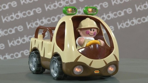 Tolo First Friends Safari Vehicle - Kiddicare - image 7 from the video