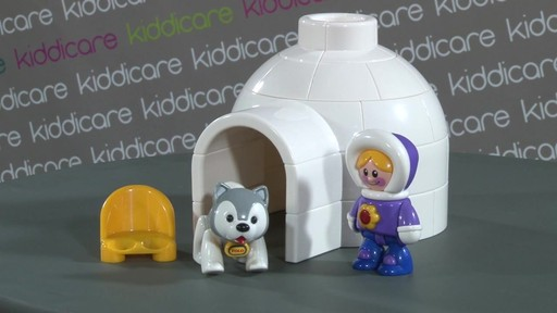 Tolo First Friends Igloo Play Set - Kiddicare - image 2 from the video