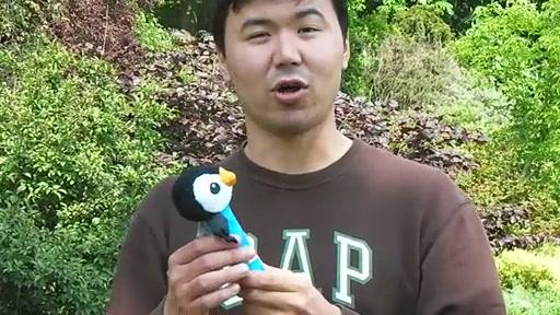 Lamaze Bend & Squeak Penguin - review - Nurseit - 2011-04-28 - image 4 from the video