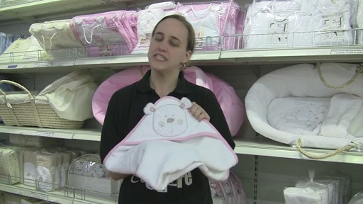 Obaby B is for Beat Hooded Towel Set - image 1 from the video
