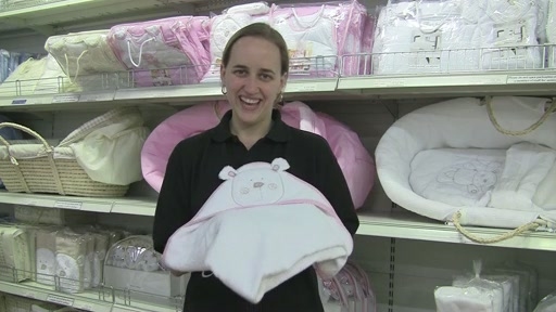 Obaby B is for Beat Hooded Towel Set - image 10 from the video