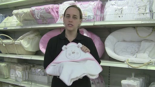 Obaby B is for Beat Hooded Towel Set - image 2 from the video