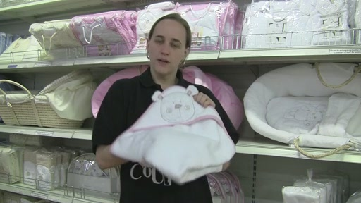 Obaby B is for Beat Hooded Towel Set - image 4 from the video