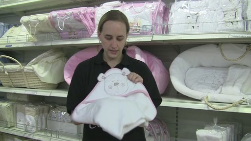 Obaby B is for Beat Hooded Towel Set - image 5 from the video