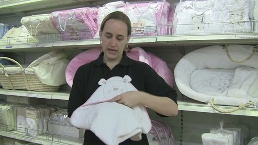Obaby B is for Beat Hooded Towel Set - image 6 from the video