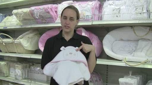 Obaby B is for Beat Hooded Towel Set - image 7 from the video