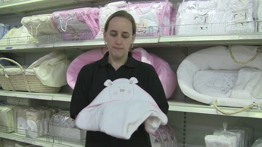 Obaby B is for Beat Hooded Towel Set - image 8 from the video