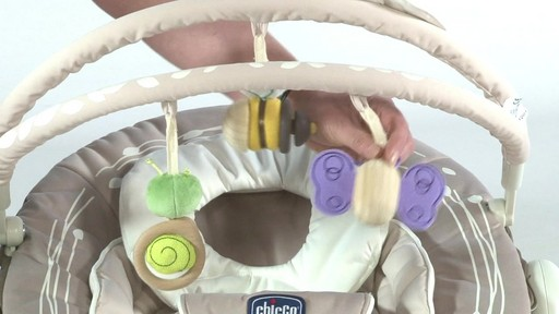Chicco Jolie Bouncer - Kiddicare - image 6 from the video