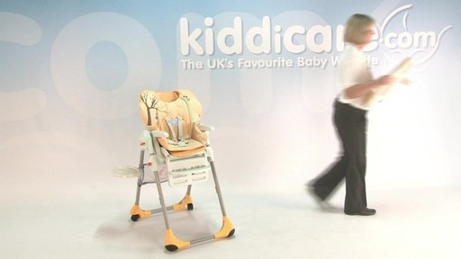 chicco polly highchair - Kiddicare - image 4 from the video