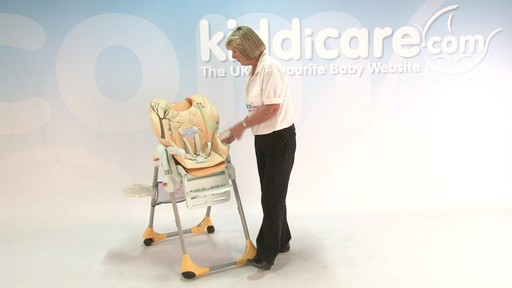 chicco polly highchair - Kiddicare - image 7 from the video