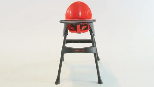 Cosatto Hiccup Highchair - Kiddicare - image 3 from the video