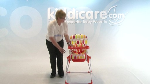 Cosatto Slim Jim Highchair - Kiddicare - image 10 from the video