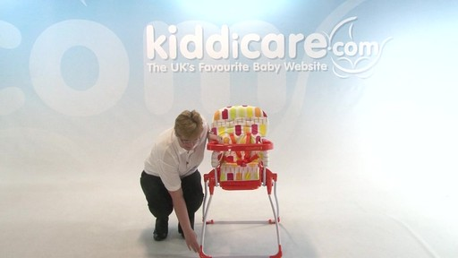 Cosatto Slim Jim Highchair - Kiddicare - image 9 from the video