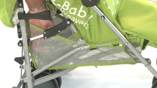 Baby Weavers You and Me Twin Pushchair - Kiddicare - image 6 from the video