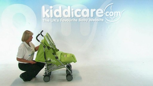 Baby Weavers You and Me Twin Pushchair - Kiddicare - image 7 from the video