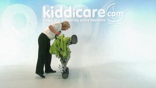 Baby Weavers You and Me Twin Pushchair - Kiddicare - image 9 from the video