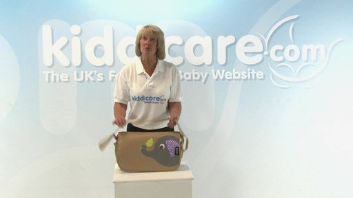 Citi Pushchair Changing Bag - Kiddicare - image 1 from the video