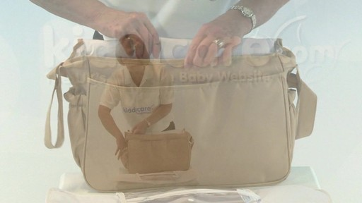 Citi Pushchair Changing Bag - Kiddicare - image 10 from the video