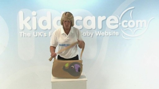 Citi Pushchair Changing Bag - Kiddicare - image 4 from the video