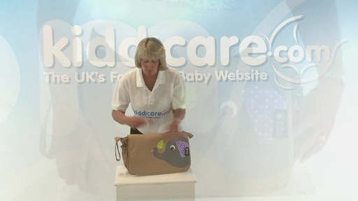 Citi Pushchair Changing Bag - Kiddicare - image 6 from the video