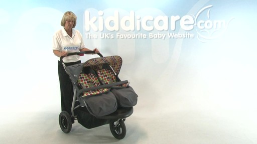 BabyWeavers Baby 2 Twin Pushchair - Kiddicare - image 1 from the video