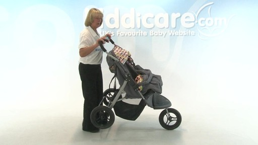 BabyWeavers Baby 2 Twin Pushchair - Kiddicare - image 10 from the video