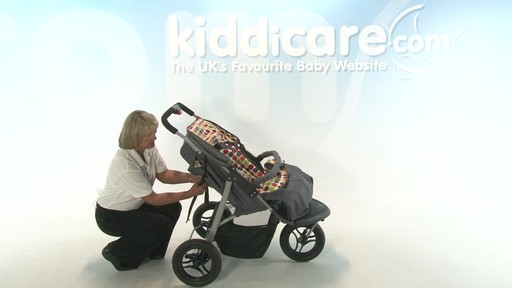 BabyWeavers Baby 2 Twin Pushchair - Kiddicare - image 6 from the video