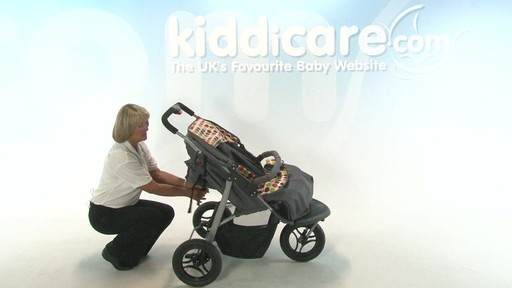 BabyWeavers Baby 2 Twin Pushchair - Kiddicare - image 7 from the video