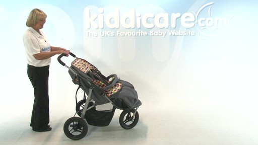 BabyWeavers Baby 2 Twin Pushchair - Kiddicare - image 8 from the video
