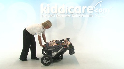 BabyWeavers Baby 2 Twin Pushchair - Kiddicare - image 9 from the video