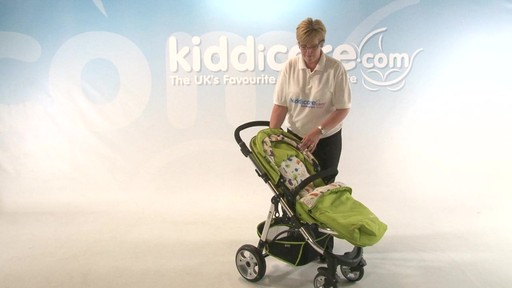 iMAX Pushchair - Kiddicare - image 8 from the video