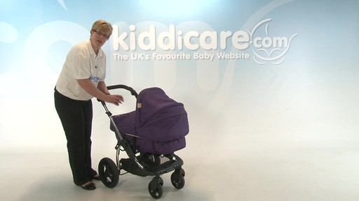 Kiddicouture Fizz Pushchair - Kiddicare - image 1 from the video