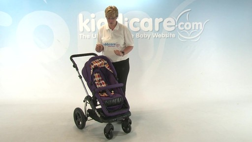Kiddicouture Fizz Pushchair - Kiddicare - image 10 from the video