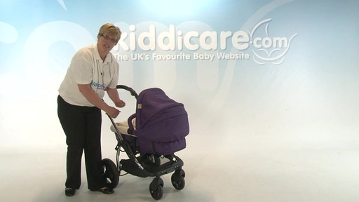 Kiddicouture Fizz Pushchair - Kiddicare - image 2 from the video