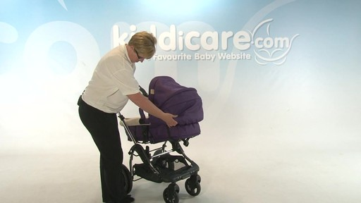 Kiddicouture Fizz Pushchair - Kiddicare - image 6 from the video