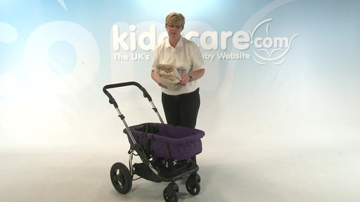 Kiddicouture Fizz Pushchair - Kiddicare - image 7 from the video