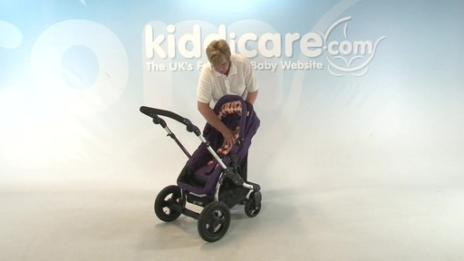 Kiddicouture Fizz Pushchair - Kiddicare - image 8 from the video