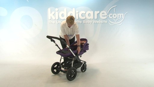 Kiddicouture Fizz Pushchair - Kiddicare - image 9 from the video