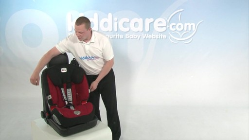 Britax Evolver 1 2 3 Plus - Kiddicare - image 2 from the video