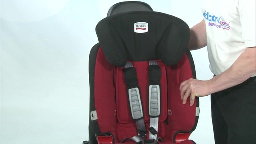 Britax Evolver 1 2 3 Plus - Kiddicare - image 4 from the video