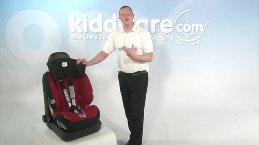 Britax Evolver 1 2 3 Plus - Kiddicare - image 5 from the video