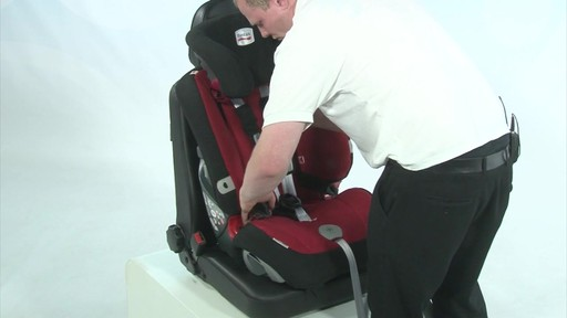 Britax Evolver 1 2 3 Plus - Kiddicare - image 6 from the video