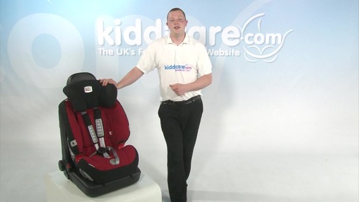 Britax Evolver 1 2 3 Plus - Kiddicare - image 8 from the video