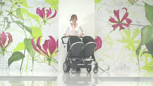 First Wheels Twin Pushchair Black - image 1 from the video