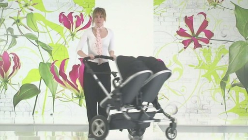 First Wheels Twin Pushchair Black - image 10 from the video