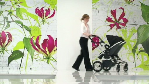 First Wheels Twin Pushchair Black - image 2 from the video