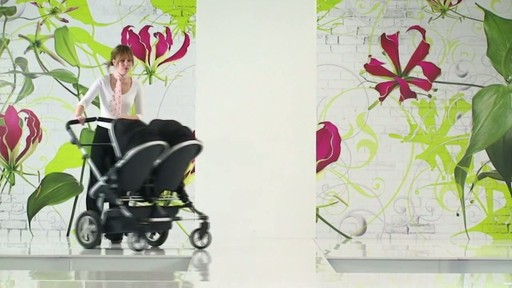 First Wheels Twin Pushchair Black - image 6 from the video