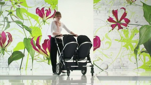 First Wheels Twin Pushchair Black - image 7 from the video