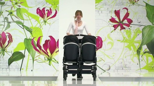 First Wheels Twin Pushchair Black - image 8 from the video