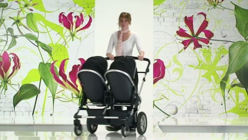 First Wheels Twin Pushchair Black - image 9 from the video